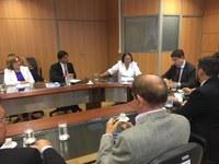 Bancada federal cobra de Secretário Executivo do MDS a não exclusão do RN em Convênio de implantação de cisternas no semiárido.