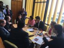 Bancada federal discute com universidades federais a urgência de repasse de recursos financeiros.