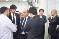 Bancada federal se reúne com dirigentes de Poderes para discutir PL sobre terceirizados.