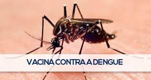 Brasil recebe 500 mil doses de vacina contra a dengue.