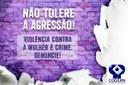 CODERN apoia campanha de combate à violência contra a Mulher.