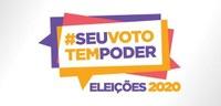 Conheça a logomarca das Eleições Municipais de 2020.