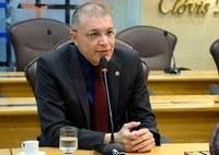 Deputado Albert Dickson é eleito presidente da Comissão de Constituição e Justiça.