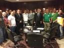 Deputado George Soares declara apoio a projeto que regulamenta transporte intermunicipal.