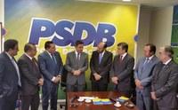 Presidente da Assembleia Legislativa assina ficha de filiação ao PSDB!