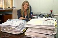 Primeira mulher a assumir o cargo de Procuradora Regional Eleitoral do Rio Grande do Norte.