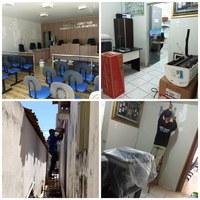 Reforma e Manutenção nos espaços da Câmara Municipal de Pilões!