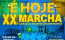 XX Marcha: Maior evento político do mundo em número de autoridades tem início nesta segunda, 15.